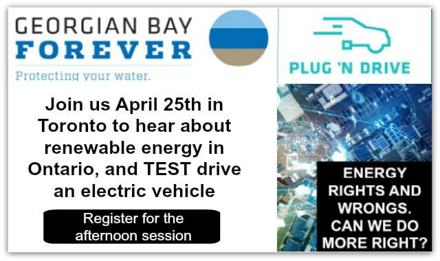Front image ELectic Vehicle event afternoon
