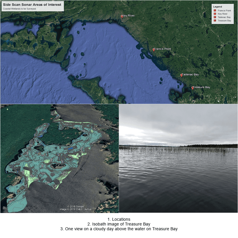 Wetlands resiliency images for Georgian Bay