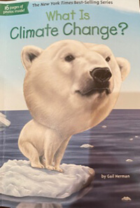Picture of book: What is Climate Change?