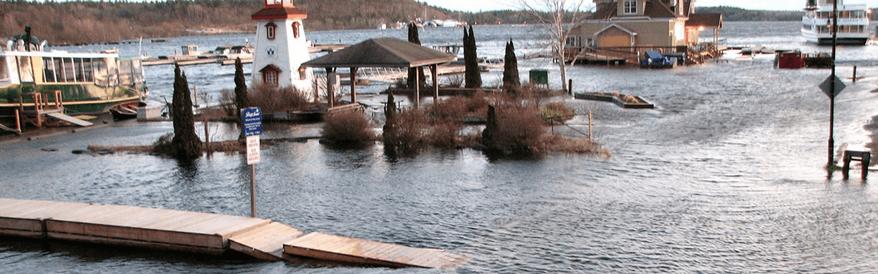 Flooding in Parry Sound